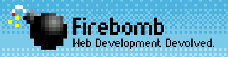 The Firebomb logo.